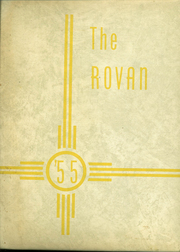 1955 Edition, Rova High School - Rovan Yearbook (Oneida, IL)