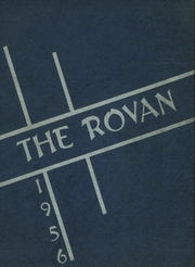1956 Edition, Rova High School - Rovan Yearbook (Oneida, IL)