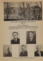 Page 15, 1946 Edition, Port Byron High School - Echo Yearbook (Port Byron, IL) online yearbook collection