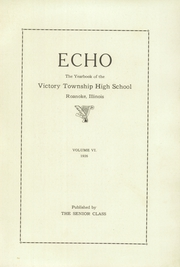 Page 5, 1926 Edition, Victory Township High School - Echo Yearbook (Roanoke, IL) online yearbook collection