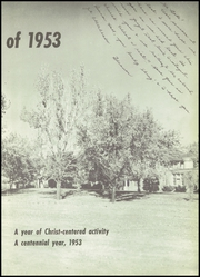 Page 7, 1953 Edition, Wheaton Academy - Compass Yearbook (Wheaton, IL) online yearbook collection