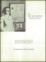 Page 10, 1956 Edition, Wheaton Academy - Compass Yearbook (Wheaton, IL) online yearbook collection