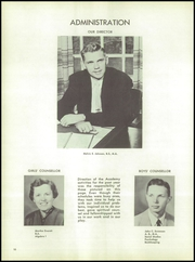 Page 14, 1956 Edition, Wheaton Academy - Compass Yearbook (Wheaton, IL) online yearbook collection