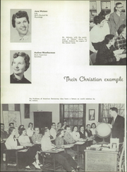 Page 16, 1957 Edition, Wheaton Academy - Compass Yearbook (Wheaton, IL) online yearbook collection