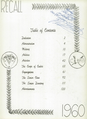 Page 7, 1960 Edition, Western Military Academy - Recall Yearbook (Alton, IL) online yearbook collection