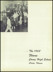 Page 5, 1958 Edition, Casey High School - Flame Yearbook (Casey, IL) online yearbook collection
