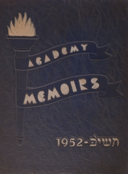 Page 1, 1952 Edition, Chicago Jewish Academy - Memoirs Yearbook (Chicago, IL) online yearbook collection