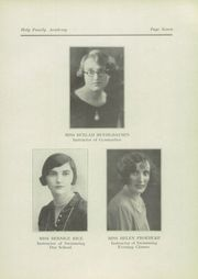Page 13, 1928 Edition, Holy Family Academy - Academian Yearbook (Chicago, IL) online yearbook collection