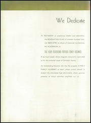 Page 10, 1941 Edition, Holy Family Academy - Academian Yearbook (Chicago, IL) online yearbook collection