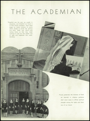 Page 8, 1941 Edition, Holy Family Academy - Academian Yearbook (Chicago, IL) online yearbook collection
