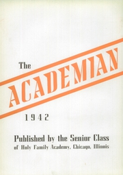 Page 6, 1942 Edition, Holy Family Academy - Academian Yearbook (Chicago, IL) online yearbook collection