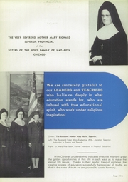 Page 13, 1944 Edition, Holy Family Academy - Academian Yearbook (Chicago, IL) online yearbook collection