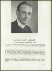 Page 11, 1945 Edition, Loyola Academy - Grad Prep Yearbook (Chicago, IL) online yearbook collection