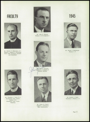 Page 15, 1945 Edition, Loyola Academy - Grad Prep Yearbook (Chicago, IL) online yearbook collection