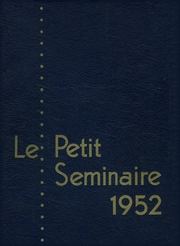 Page 1, 1952 Edition, Quigley Preparatory Seminary - La Petit Seminaire Yearbook (Chicago, IL) online yearbook collection