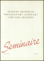 Page 7, 1952 Edition, Quigley Preparatory Seminary - La Petit Seminaire Yearbook (Chicago, IL) online yearbook collection