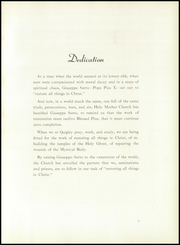 Page 9, 1952 Edition, Quigley Preparatory Seminary - La Petit Seminaire Yearbook (Chicago, IL) online yearbook collection
