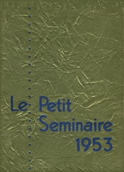 Page 1, 1953 Edition, Quigley Preparatory Seminary - La Petit Seminaire Yearbook (Chicago, IL) online yearbook collection