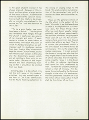 Page 17, 1953 Edition, Quigley Preparatory Seminary - La Petit Seminaire Yearbook (Chicago, IL) online yearbook collection