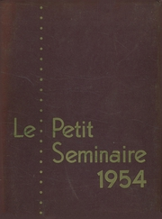 Page 1, 1954 Edition, Quigley Preparatory Seminary - La Petit Seminaire Yearbook (Chicago, IL) online yearbook collection