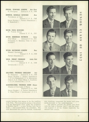 St Patricks Academy - Shamrock Yearbook (Chicago, IL) online yearbook collection, 1952 Edition, Page 27