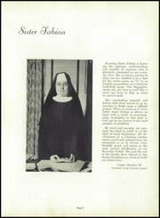 Page 11, 1952 Edition, St Scholastica High School - Scholastican Yearbook (Chicago, IL) online yearbook collection