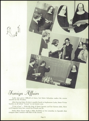 Page 15, 1952 Edition, St Scholastica High School - Scholastican Yearbook (Chicago, IL) online yearbook collection