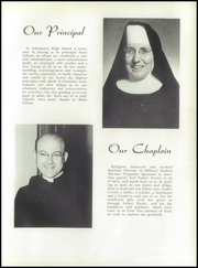 Page 11, 1955 Edition, St Scholastica High School - Scholastican Yearbook (Chicago, IL) online yearbook collection