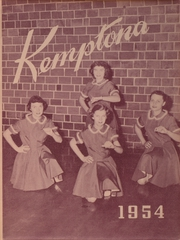 1954 Edition, Kempton High School - Kemptona Yearbook (Kempton, IL)