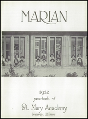 Page 5, 1952 Edition, St Mary Academy - Marian Yearbook (Nauvoo, IL) online yearbook collection