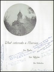 Page 9, 1952 Edition, St Mary Academy - Marian Yearbook (Nauvoo, IL) online yearbook collection