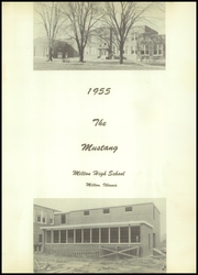 Page 5, 1955 Edition, Milton High School - Mustang Yearbook (Milton, IL) online yearbook collection