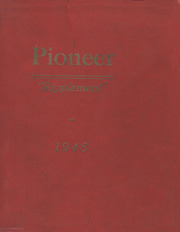 Page 1, 1945 Edition, Strawn High School - Pioneer Yearbook (Strawn, IL) online yearbook collection