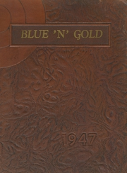 1947 Edition, Big Rock High School - Blue and Gold Yearbook (Big Rock, IL)
