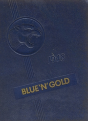 1948 Edition, Big Rock High School - Blue and Gold Yearbook (Big Rock, IL)