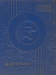 1951 Edition, Big Rock High School - Blue and Gold Yearbook (Big Rock, IL)