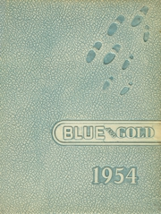 1954 Edition, Big Rock High School - Blue and Gold Yearbook (Big Rock, IL)