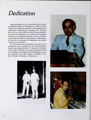 Page 14, 1985 Edition, Illinois College of Optometry - Annual Yearbook (Chicago, IL) online yearbook collection