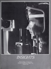 Page 5, 1985 Edition, Illinois College of Optometry - Annual Yearbook (Chicago, IL) online yearbook collection