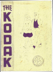 Page 1, 1945 Edition, Eau Claire High School - Kodak Yearbook (Eau Claire, WI) online yearbook collection