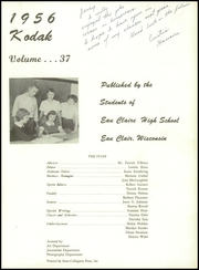 Page 5, 1956 Edition, Eau Claire High School - Kodak Yearbook (Eau Claire, WI) online yearbook collection
