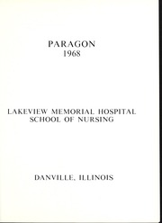 Page 5, 1968 Edition, Lakeview Hospital School of Nursing - Annual Yearbook (Danville, IL) online yearbook collection
