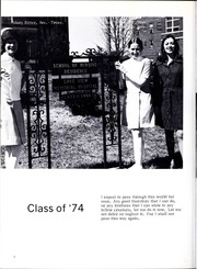 Page 10, 1974 Edition, Lakeview Hospital School of Nursing - Annual Yearbook (Danville, IL) online yearbook collection
