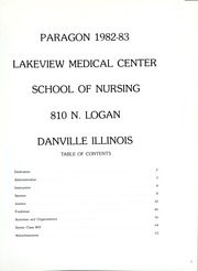 Page 5, 1983 Edition, Lakeview Hospital School of Nursing - Annual Yearbook (Danville, IL) online yearbook collection