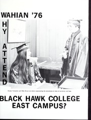 Page 5, 1976 Edition, Black Hawk College East Campus - Wahian Yearbook (Galva, IL) online yearbook collection