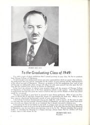 Page 10, 1949 Edition, Chicago College of Optometry - Focus Yearbook (Chicago, IL) online yearbook collection
