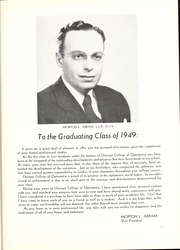 Page 11, 1949 Edition, Chicago College of Optometry - Focus Yearbook (Chicago, IL) online yearbook collection
