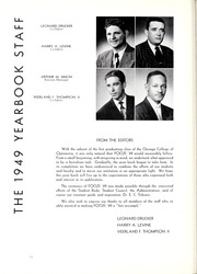Page 16, 1949 Edition, Chicago College of Optometry - Focus Yearbook (Chicago, IL) online yearbook collection