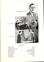 Page 17, 1949 Edition, Chicago College of Optometry - Focus Yearbook (Chicago, IL) online yearbook collection