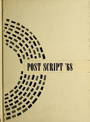 1968 Edition, Prairie State College - Post Script Yearbook (Chicago Heights, IL)